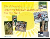 Cover of Healthy Parks and Playgrounds Report