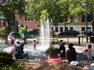 Dana Park waterplay
