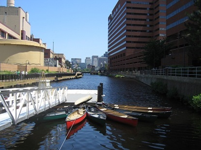 Canoe's at Broad Canal