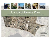 The Concord-Alewife plan cover