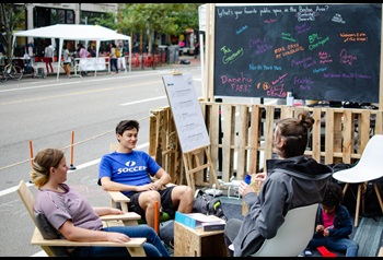CultureHouse at PARK(ing) Day 2019