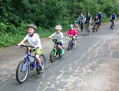 Start a bike train at your child's school!