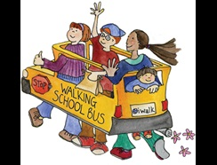 Start a Walking School Bus at your child's school!