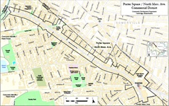 porter square district map