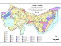 Cambridge base zoning map