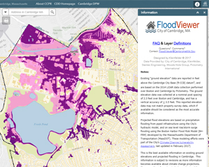 DPW Flood Viewer Interactive Map