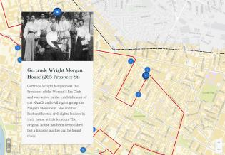 Story Map of the Nineteenth Amendment Centennial Bike Ride