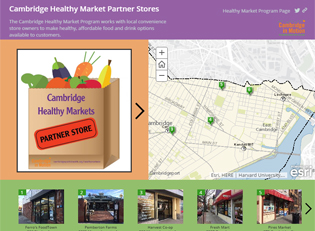 Healthy Market Programs Story Map