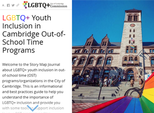 LGBTQ Youth Inclusion Story Map