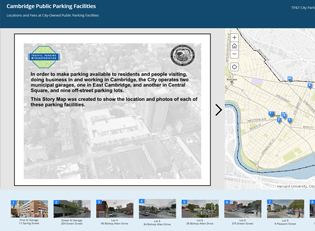 Public Parking Story Map thumbnail image
