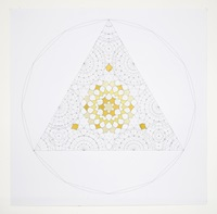 "Dana Awartani, ""Octahedron within a Cube from the Platonic Solid Duals Series"""