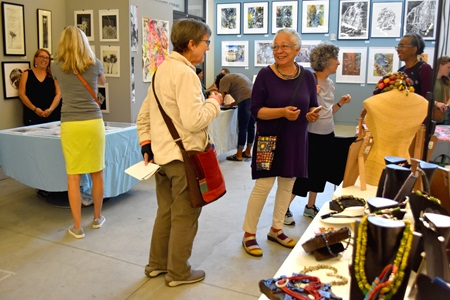 The 2018 Cambridge Arts Open Studios at Lesley University's Lunder Art Center.