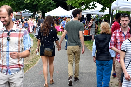 2018 Cambridge Arts River Festival.