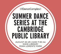 Event image for Summer Dance Series with the Dance Complex