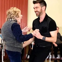Event image for [Registration Required] Ballroom Dance Class with Michael Winward