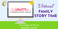 Event image for Virtual Family Story Time