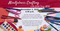 Event image for Mindfulness Crafting with Linda Tang