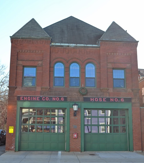 Engine six fire station photo