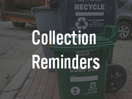 Trash, Recycling, & Compost Reminders