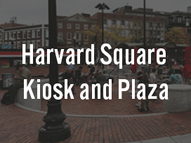 Harvard Square Kiosk and Plaza