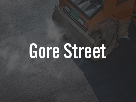 Gore St. Utility Construction