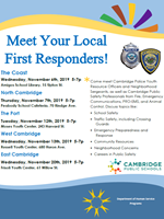 Meet Your Local First Responders Flyer