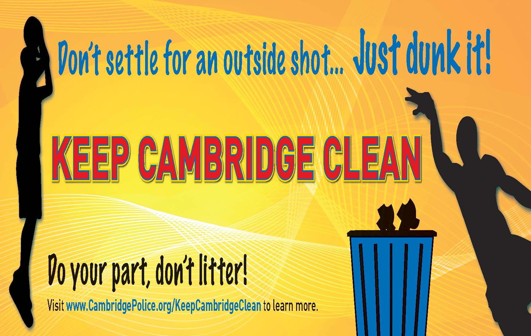 Keep Cambridge Clean