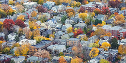 Aerial photo of Mid-Cambridge