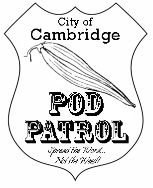 Cambridge Pod Patrol Logo