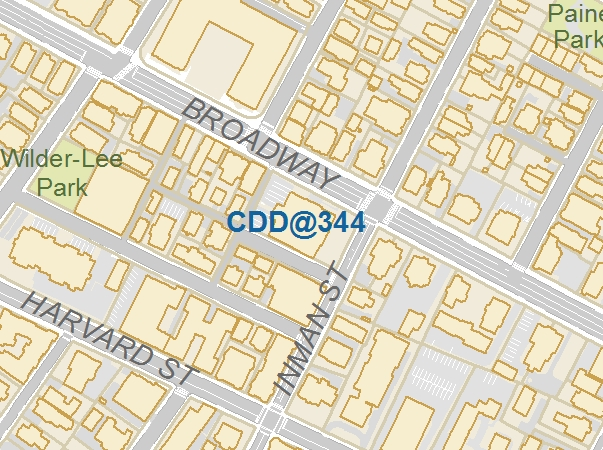Location of CDD offices