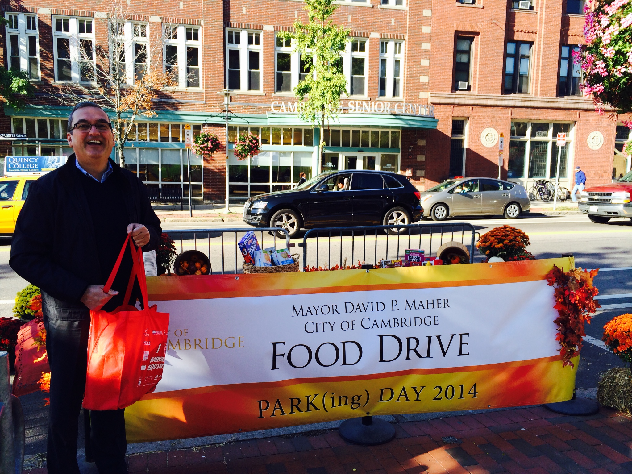 Mayor's Food Drive