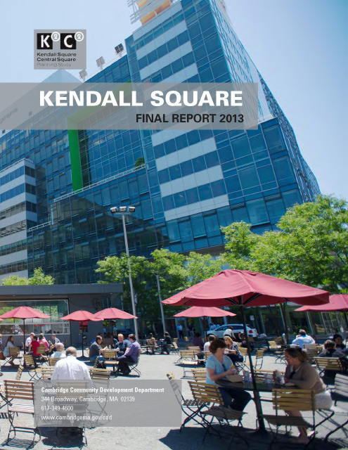 K2C2 Kendall Square report cover