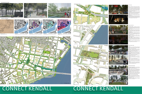 Richard Burck Associates - Connect Kendall Square Competition Public Exhibition