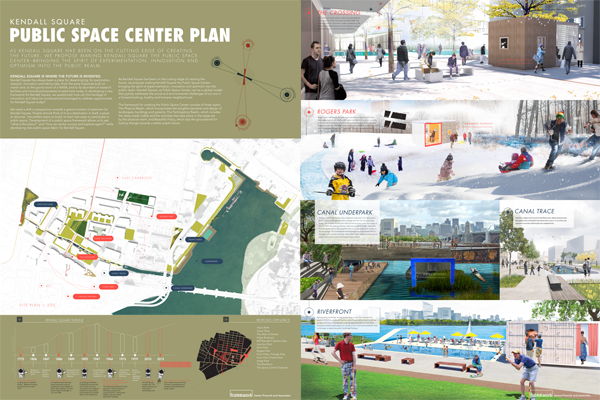 Framework Cultural Placemaking - Connect Kendall Square Competition Public Exhibition