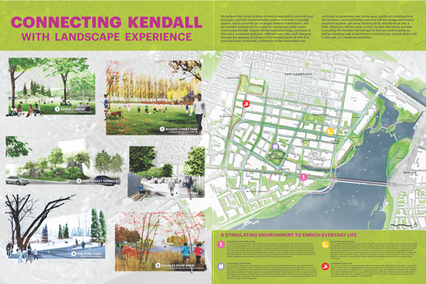 Michael Van Valkenburgh Associates, Inc. - Connect Kendall Square Competition Public Exhibition
