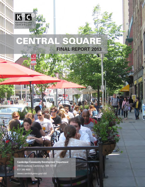 K2C2 Central Square report cover