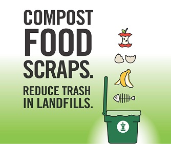 Curbside composting promotion