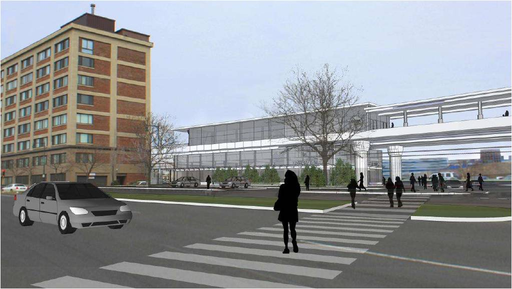 Lechmere Station rendering 2011