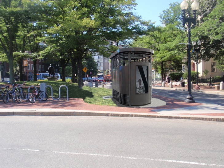 Harvard Square Public Toilet