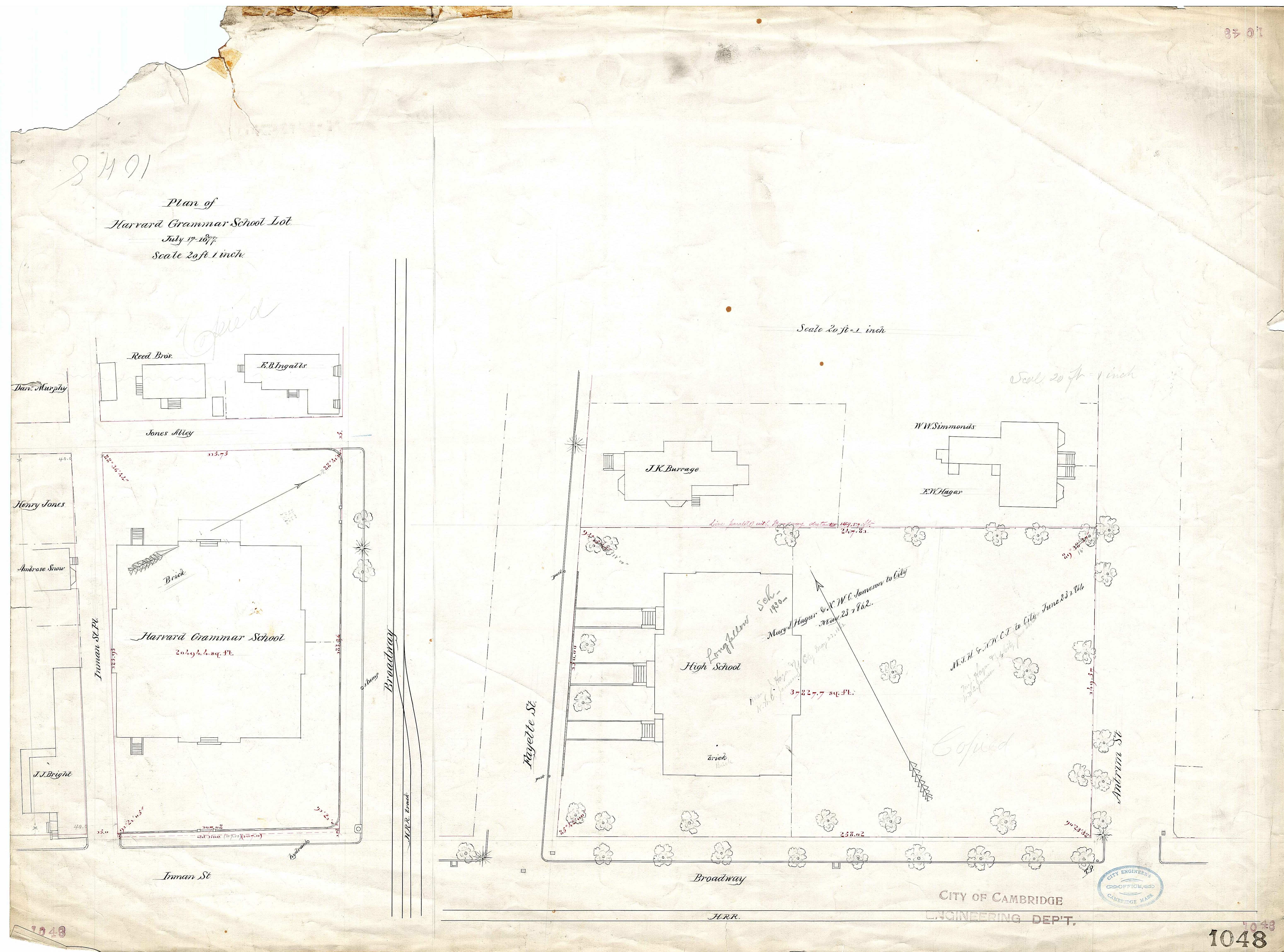 247 Churchill Avenue Survey Lot 0019 1858 Http 248 19775 0 Gm Engine Diagram 1048