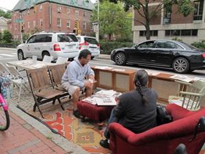 Parking Day Cdd City Of Cambridge Massachusetts