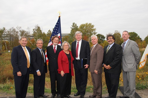 Alewife Wetland Dedication Speaker Photo