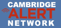 Cambridge Alert Network Logo
