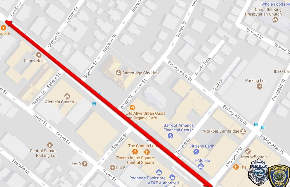 Mass Ave Closure for City Dance Party