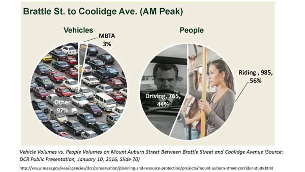 mt auburn street bus pilot graphic