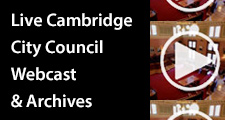 Cambridge live city webcast