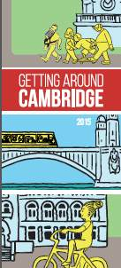 Getting Around Cambridge Map Cover