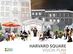 cover of harvard square vision plan report