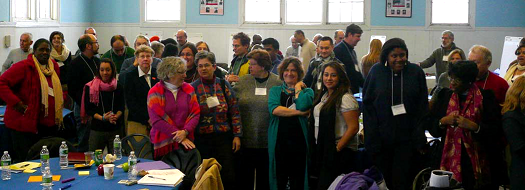 Participants in the Moving Cambridge Forward strategic gathering