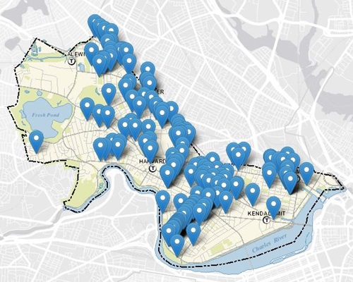 iReport, Interactive Map, Embedded Map, Cambridge, Unshoveled Sidewalks